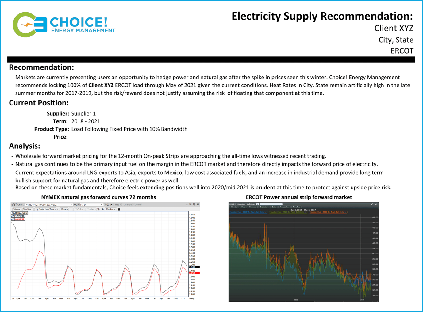 Strategic Procurement | Choice! Energy Management